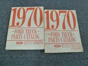 1970 Ford F700 F750 Cab  U0026 Chassis Truck Parts Catalog