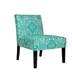 ideas  turquoise chair  pinterest cowhide