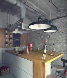 loft kitchen ideas casual loft style living
