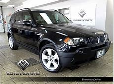 Buy used 05 BMW X3 30I Prem PKG, Pano Roof Auto in