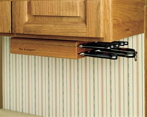under cabinet knife rack wusthof under cabinet knife storage