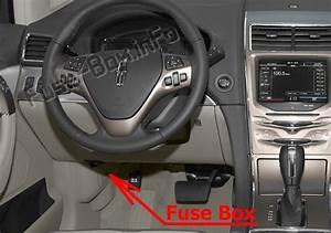 Fuse Box Diagram Lincoln Mkx  2011