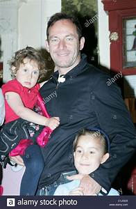 Jason Isaacs with his daughters Lily and Ruby Angelina ...