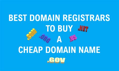 Instant free web site with online shopping cart and free web design. 9 best domain registrars to buy cheap domain names - LemmeHelp