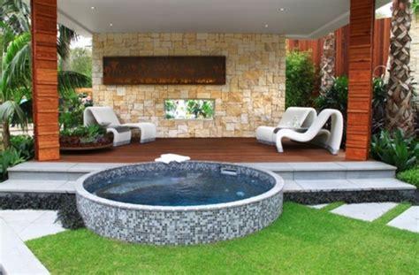 Whirlpool Für Terrasse by Whirlpool Im Garten Einbauen 39 Tolle Gestaltungsideen