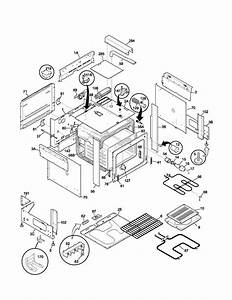 Frigidaire Fes367dba Electric Range Parts