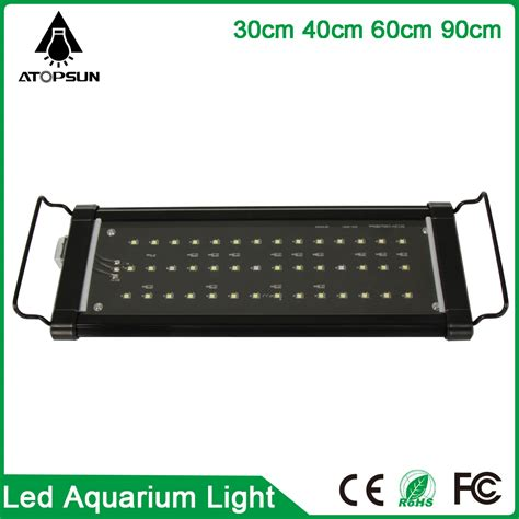 aquarium 80 x 30 x 40 cm 1pcs 30cm 40cm 60cm 90cm led aquarium lighting fish tank l white blue marine aquarium led