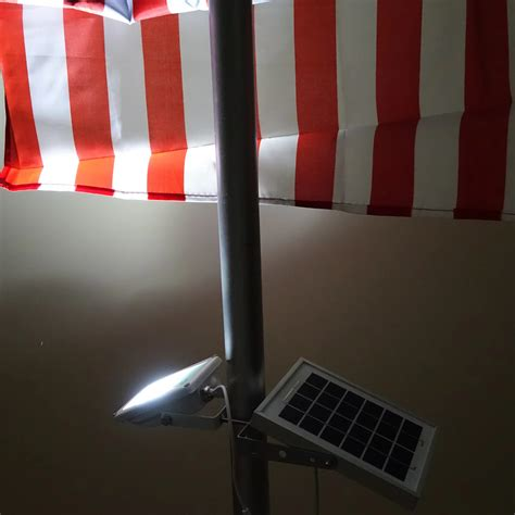 solar power flag pole light malaysia indonesia