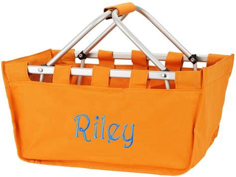 market utility tote large basket bag personalized