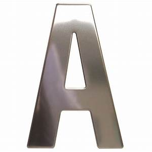 sandleford 130mm a chrome plated stainless steel letter i With chrome wall letters