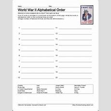 9 Worksheets That Will Teach Your Child About World War Ii  Social Studies, World War And World