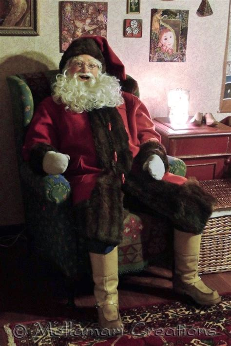 best 28 size santa claus doll mollamari creations