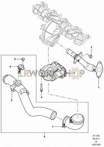 Egr Valves And Pipes - 2 2 Tdci
