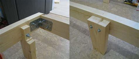fabriquer un pied de le comment fabriquer un lit en bois soi m 234 me