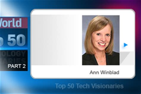 Top 50 Tech Visionaries: Part 2 | IT Business Slideshow