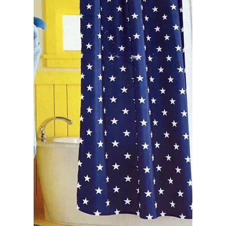 navy blue curtains walmart circo navy blue fabric shower curtain americana usa