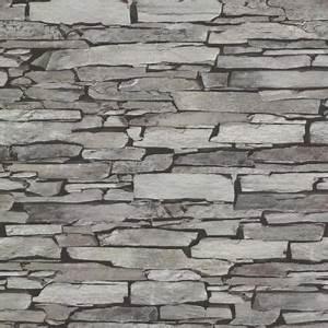 papier peint expanse pierre plate grise castorama With peindre un escalier en gris 13 pierre de parement revetement mural et interieur decoratif