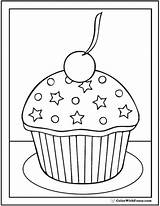 Coloring Cupcake Birthday Pages Happy Muffin Cupcakes Know Pdf Grandma Cream Ice Stars Colorwithfuzzy Template Printable Sheets Sheet Getdrawings Customizable sketch template