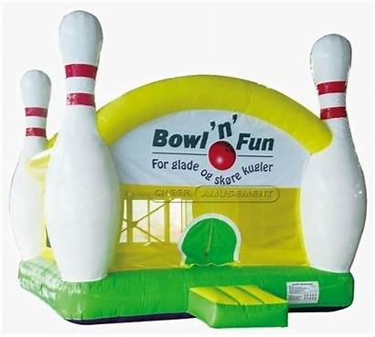 Amusement Inflatable Bouncer Cheer Equipment Playground Bowling