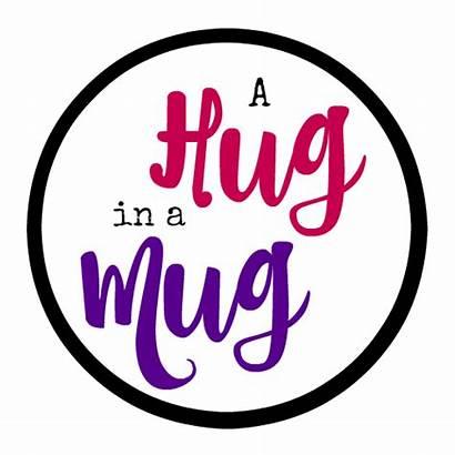 Hug Mug Cheer Someone Gifts Tags Gift