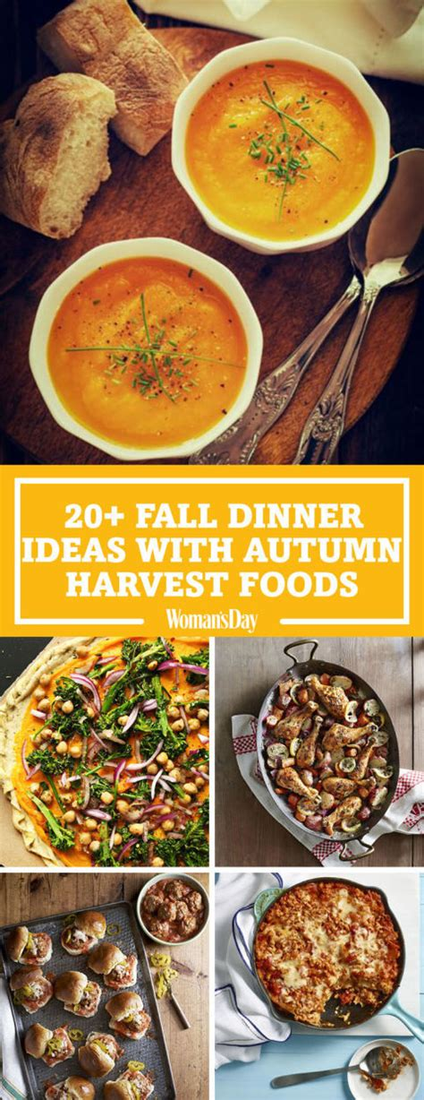 fall dinner recipes 26 easy fall dinner ideas best dinner recipes for autumn