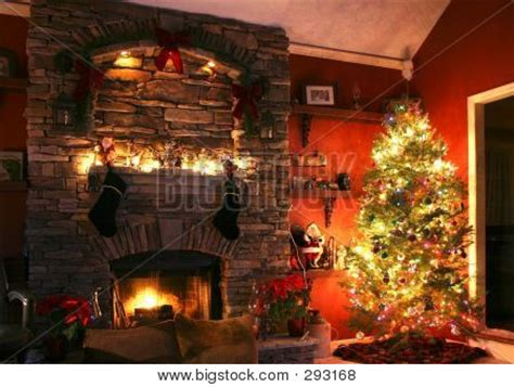 christmas tree subsequent  hearth