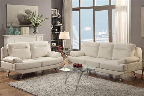 White Leather Sofa And Loveseat by White Leather Sofa And Loveseat Set A Sofa