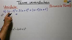 Term Berechnen Online : terme vereinfachen binomische formeln 1 mathehilfe24 ~ Themetempest.com Abrechnung