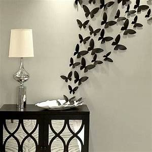 butterfly wall decor set bedroom inspirations With butterfly wall decor