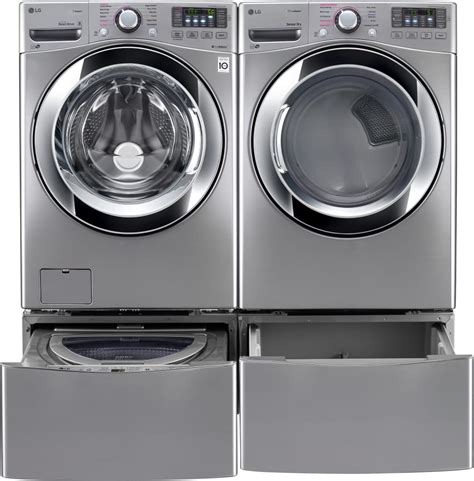 Lg Wm3670hva 27 Inch 45 Cu Ft Front Load Washer With
