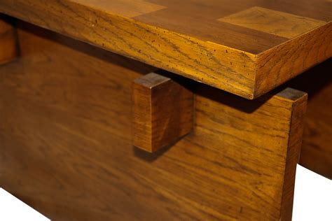 Shop with afterpay on eligible items. Mid Century Modern Lane Brutalist Oak Coffee Table