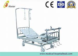 Hospital Adjustable Orthopaedics Traction Bed With Back