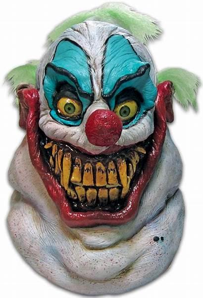 Clown Killer Mask Scary Sloppy Halloween Space