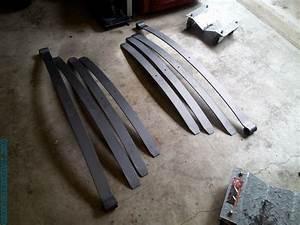 Ol U2019 Blue  U201971 Chevy  U2013 New Front Suspension With Leaf Spring Sliders  U2013 Diy Metal Fabrication  Com