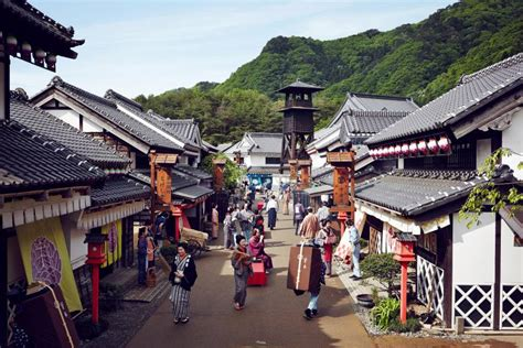 Edo Wonderland Nikko Edomura: the samurai era in town and