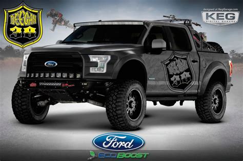 Tuned 2015 Ford F-150 Pickups Headed To Sema
