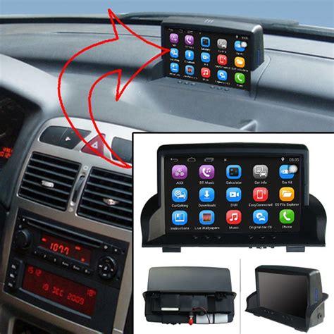 android car gps navigation  peugeot  car