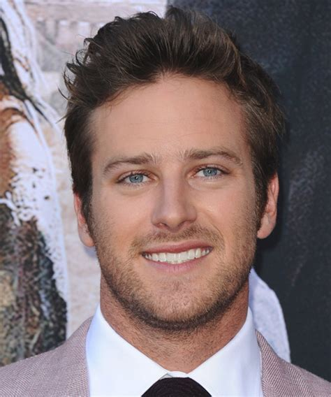 Armie Hammer Hairstyles for 2018   Celebrity Hairstyles by