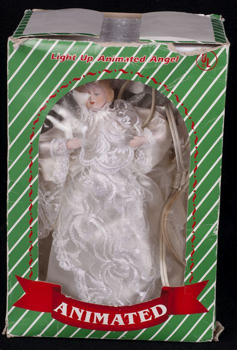 le chat noir boutique animated angel christmas tree