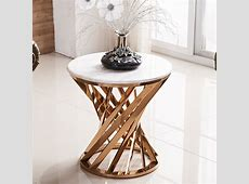 Grace Marble Side Table – Snow Globe Furniture Singapore
