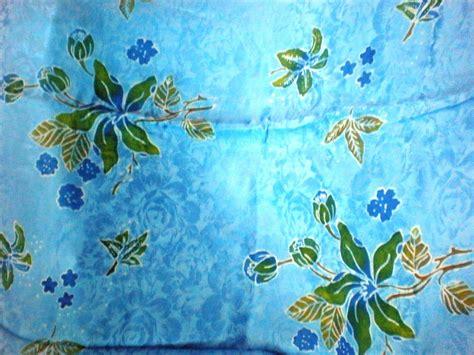 exclusively   kain sutera corak batik terengganu