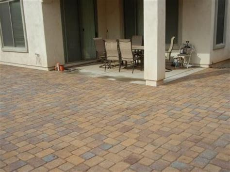 extend patio with pavers outdoor spaces