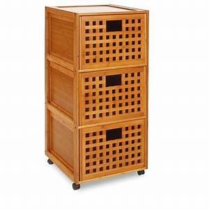 modele meuble bas salle de bain bambou With meuble bas bambou salle de bain