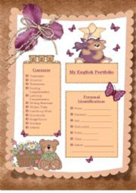 15184 portfolio design for elementary students portfolio worksheets