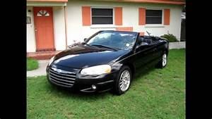 2004 Chrysler Sebring Touring Convertible  83 000 Low