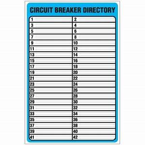circuit breaker panel labels template world of template With circuit box labels