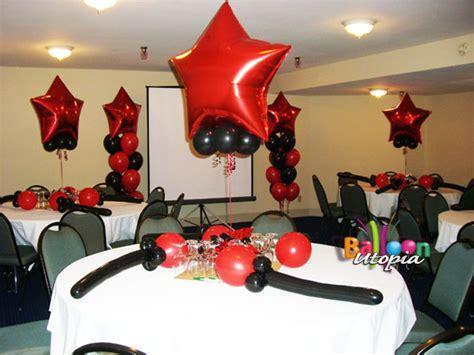star themed decor  balloon utopia