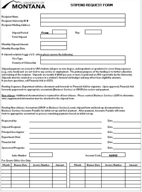 forms sponsored programs sponsored programs