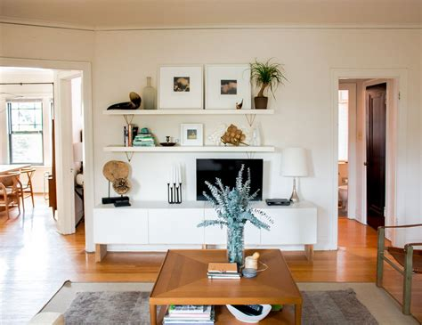 wall shelving budget living room storage