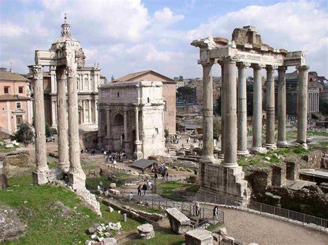 Ancient Building Roman Forum